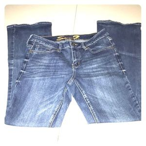 Seven7 Bootcut Stretch Jeans 1156
